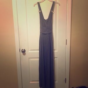Apt 9 Gray Maxi dress